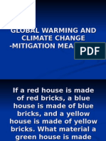 Global Warming - Mitigation Measures