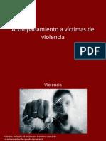 Acompañamiento a victimas de violencia