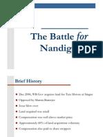 The Battle for Nandigram