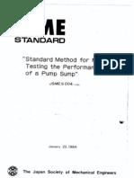 JSME S 004 (1984) - Pump Sump Model Testing.pdf