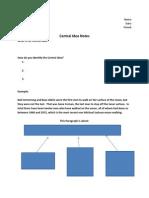 central idea notes