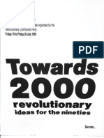 Living Marxism Live - Towards 2000