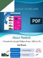 reebok easytone Brand audit