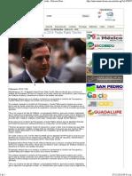 06-11-13 Será histórico el Presupuesto 2014 - Pedro Pablo Treviño
