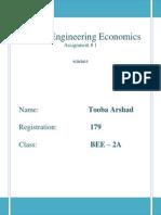 Economics vs Engineering Economics.docx