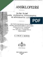 Islam Ansiklopedisi (MEB) Cilt 05-1 HA-İBN HANİ (1987) 746 s 73 MB