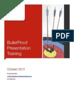 Bulletproof Presentations Handouts.pdf