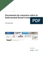 Enf. Renal Cronica 2012. SEN