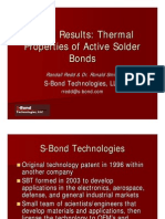 Thermal Properties of Active Solder Bonds-IMAPS TATW 2004