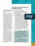 Critical Aspects of EPA's IRIS Assessment of Inorganic Arsenic