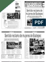 Versión impresa del periódico El mexiquense 7 noviembre 2013