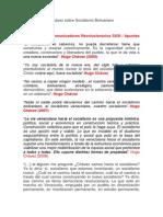 Definiciones de Chávez sobre Socialismo Bolivariano Revolucionario