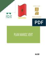 Hajjaji Plan Maroc Vert Strategie