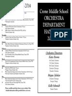 crone handbook 2013-2014