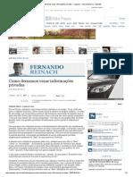 Como deixamos vazar informações privadas - saopaulo - versaoimpressa - Estadão
