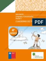4° BÁSICO - CUADERNO DE TRABAJO LENGUAJE Y COMUNICACIÓN