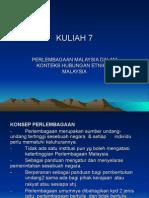 an Malaysia Dalam Konteks Hubungan Etnik Di Malaysia