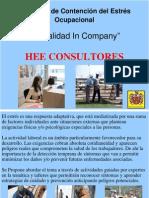Estrés Ocupacional HEE Programa de Contención y Prevención