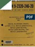 TM 9-2320-246-20 - M274 Mule manual