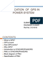 APPLICATION  OF  GPS IN power system.pptx