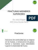 Fracturas de Miembros Superiores