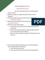 gcf gmail reflection 10points