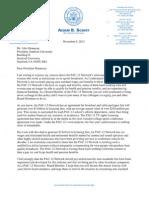 Congressman Schiff Stanford PAC12 Network IATSE Letter