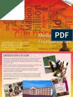 MWF-UK Annual Summary Report 2009