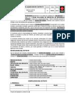 FMI045 Proyecto de Liquidacion de Contrato