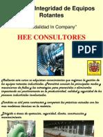 Integridad de Equipos Rotantes HEE Consultores