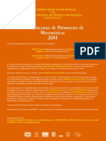 convocatoria prim 2014