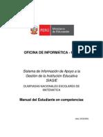 Manual de Usuario ONEM 2012