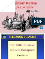 the 18th brumaire of louis bonaparte by karl marx preview