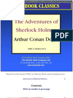the adventures of sherlock holmes by arthur conan doyle preview