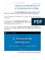 Tutorial WordPress - Curso Gratis Como Crear Un Blog