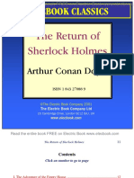 the return of sherlock holmes by arthur conan doyle preview