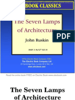 the seven lamps of architecture by john ruskin preview
