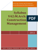 ycmou m arch construction management syllabus