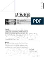 Gutiérrez El reverso del sujeto sociológico