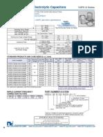 NIC Components NSPE-U Series