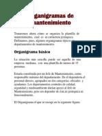Organigramas de Mantenimient1