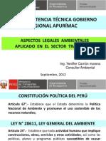 2.Aspectos Legales Marco Legal Transportes