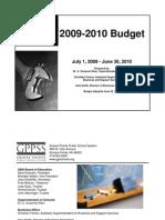 GPPS Budget 2009-10