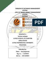 travel agency management system