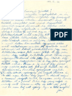 1957 11 13 Letter From Mariska Ludwig Michael Ludwigs Wife to Her Sisterinlaw Oma Written in Hungarian