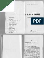 MELLO, Hygina_A Cultura Do Simulacro_filosofia e Modernidade Em J. Baudrillard