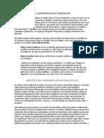 Casas Amador Jose Carlos -Limites Etivos y Un Caso Cientifico