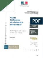 Guide Dossier Eau Dise Gard