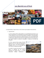 Minera Barrick en el Perú