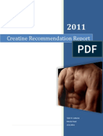 Creatine Recommendation Report